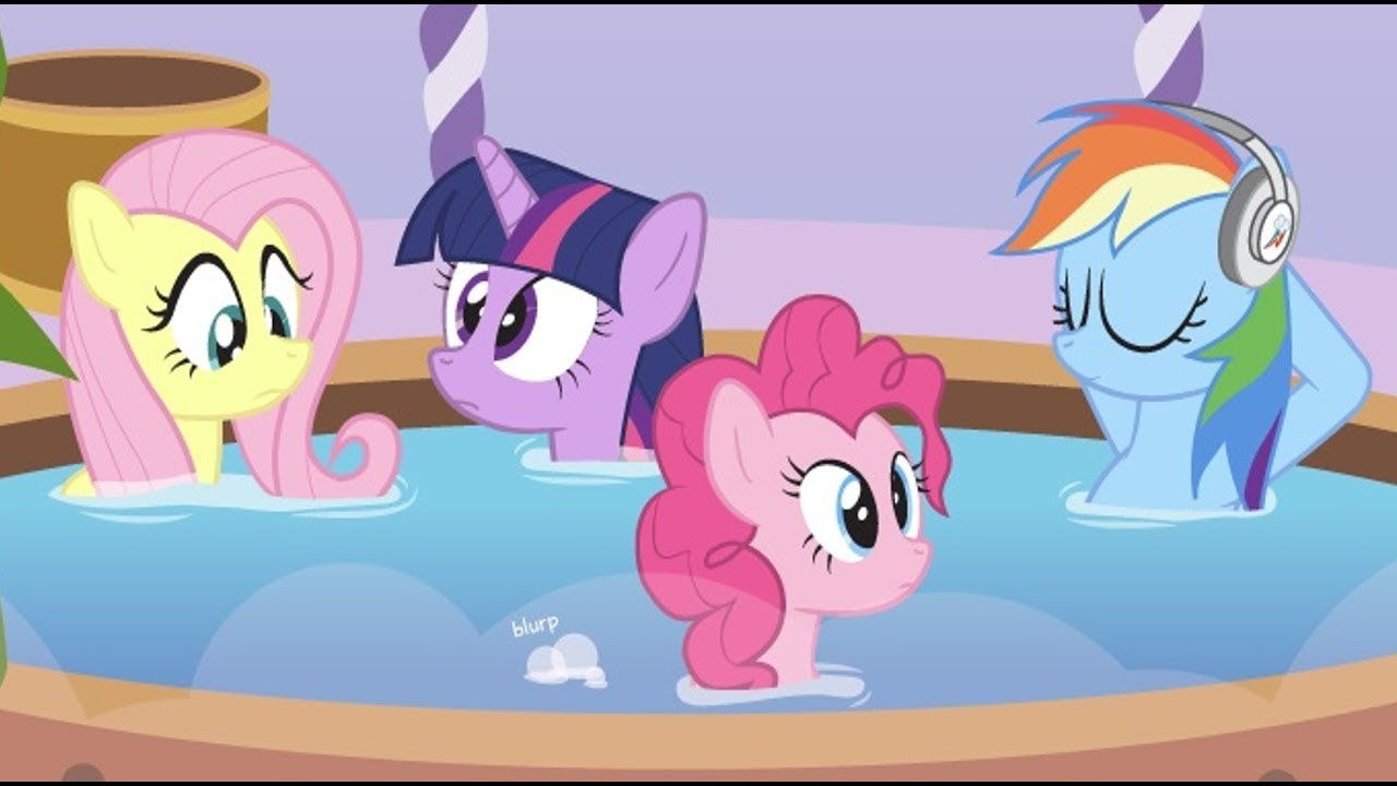 Girl Fart In Tub Deviantart: [MLP Comic Dub] Bubbles In The Tub (comedy)