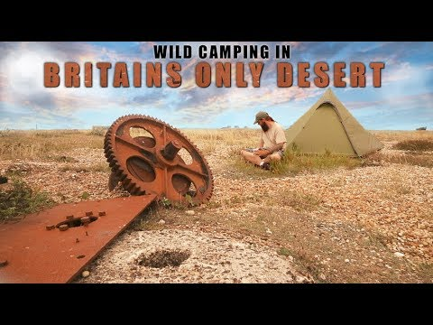 Wild Camping In Britains Only Desert