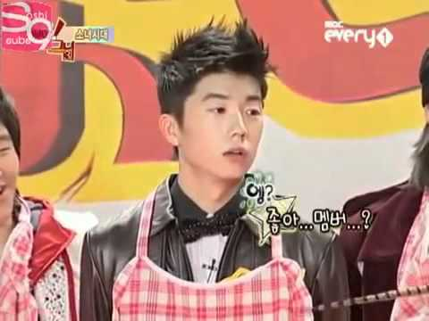 2pm wooyoung funny moment with snsd