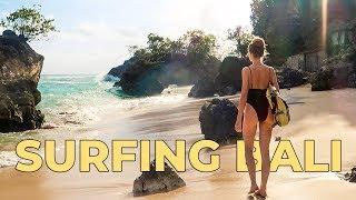 Gambar cover SURFING PADANG PADANG! BALI travel vlog 2019