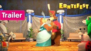 Mascha und der Bär - Erntefest 👑 (Trailer)