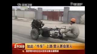 Modified tractor-vehicle in China