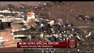 RAW FOOTAGE: Oklahoma Tornado Kills 2 Dozen Children At Elementary School « CBS Houston
