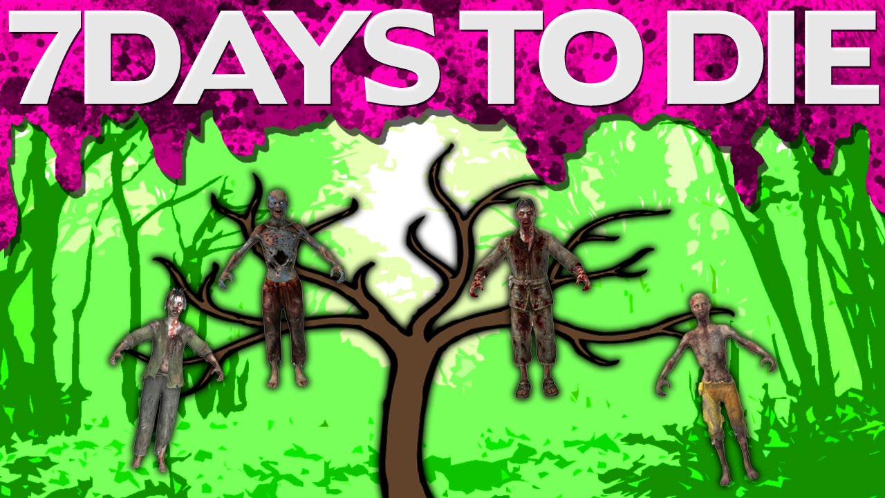 Zombies grow on trees 7 days to die 26 youtube for Gardening 7 days to die