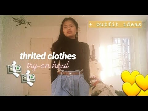 [VIDEO] - ukay-ukay try-on haul (+outfit ideas)    philippines 3