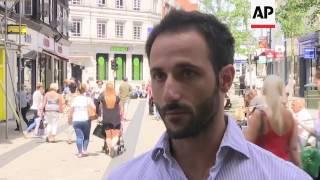 EU citizens in UK react to May