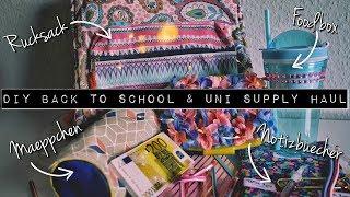DIY für Schule & Uni SUPPLY HAUL Challenge mit Aron David | Cool 2 School mit Action