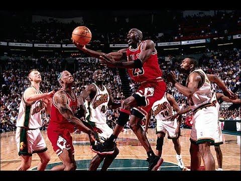 Michael Jordan Highlights 1995-96 - MVP and 72 win Season - YouTube