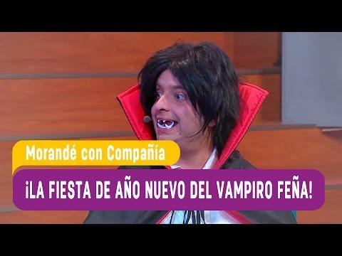 El vampiro Feña hizó una fiesta de año nuevo - Morandé con Compañía 2016