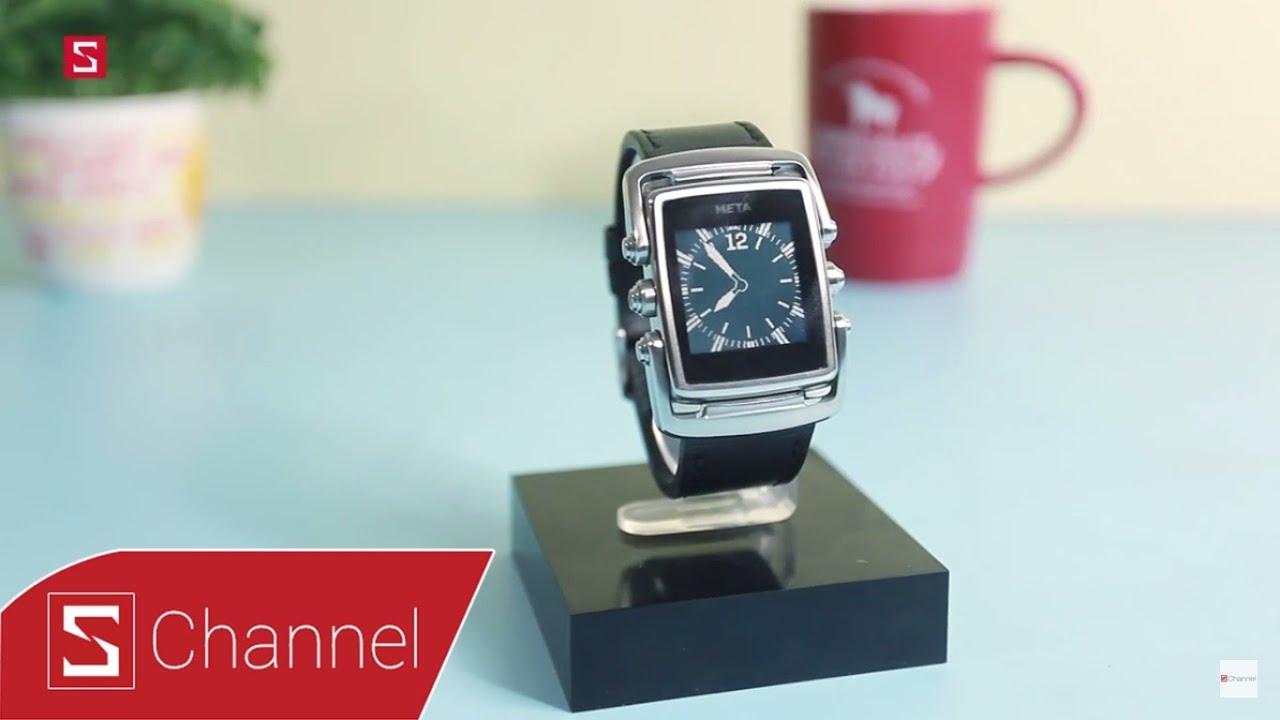 Schannel – Sự khác biệt từ smartwatch Meta M1