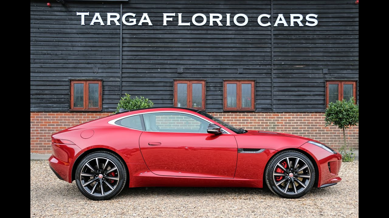 Jaguar F Type V6 S Coupé Finished In Italian Racing Red
