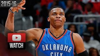 Russell Westbrook Full Highlights at Hawks (2015.11.30) - 34 Pts, 11 Reb, 7 Ast