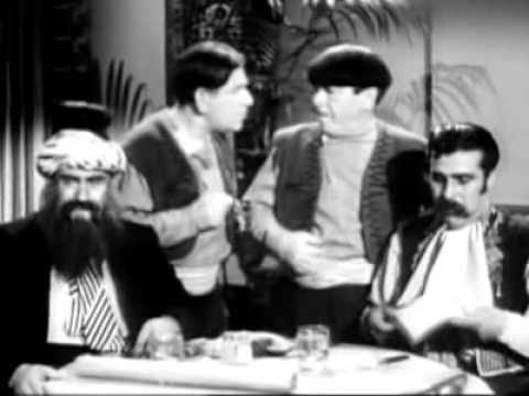 """The Three Stooges """"Malice In The Palace"""" 1949 