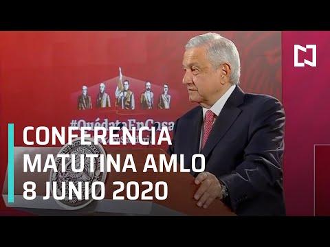 Conferencia matutina AMLO/ 8 de Junio 2020