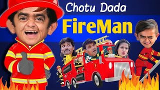 Chotu Dada Fire Man | छोटू दादा फायर मैन। Khandesh Hindi | Chhotu Dada Latest Comedy Video 2020