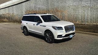 2018 Lincoln Navigator Reserve 4WD - Review