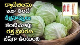 క్యాబేజీ శరీరానికి దివ్య ఔషధం|#Top 10 Health Benefits of Cabbage |#Cabbage | Benefits For Skin,Hair