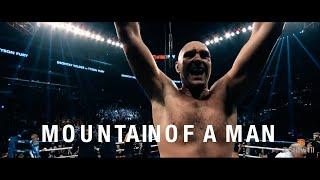 Gambar cover Mountain of a Man - Tyson Fury  (2019) Highlight/Documentary