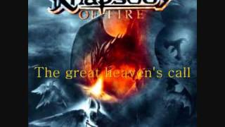 Rhapsody of Fire - Sea of Fate (Lyrics)