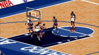 NBA Live 96 (Genesis)- Gameplay