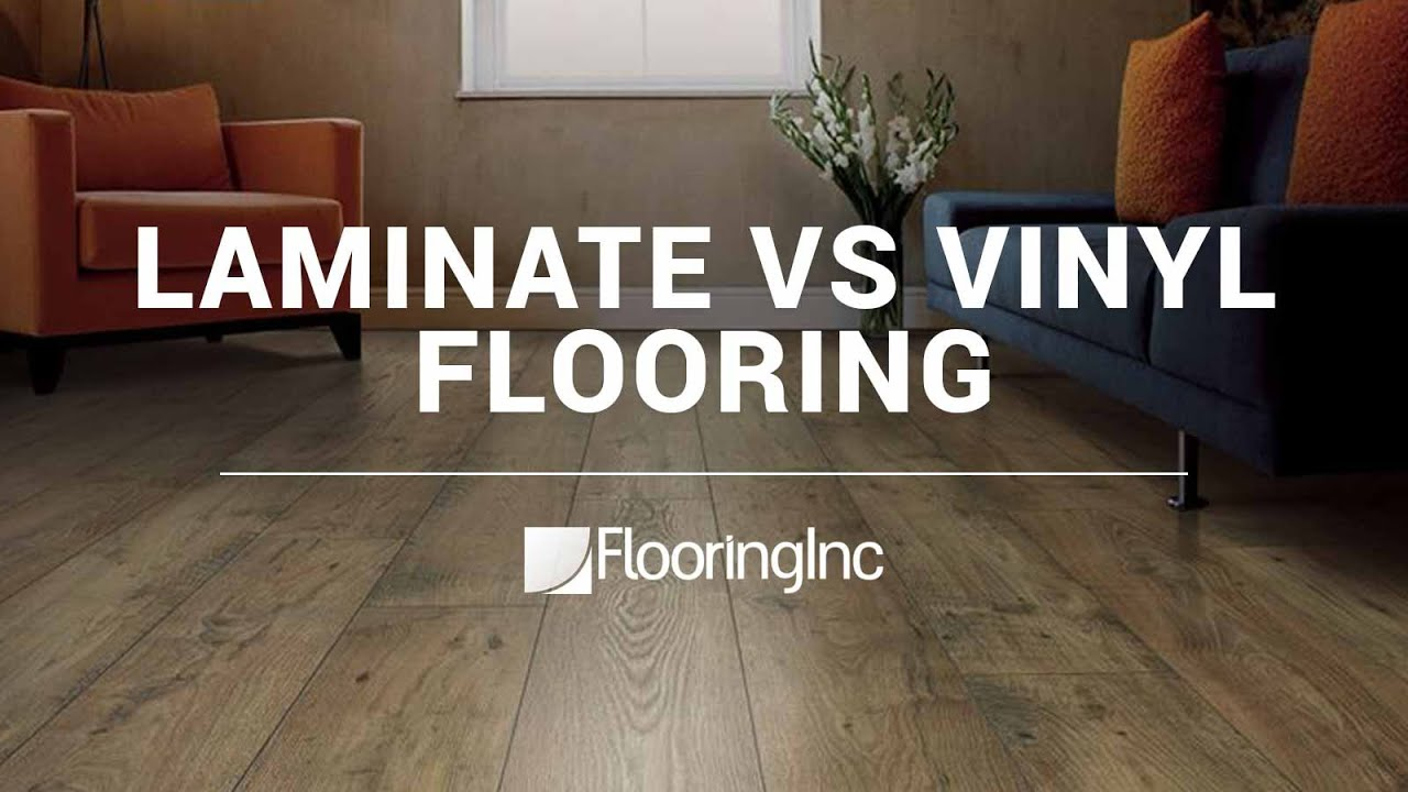 Laminate Flooring Vs Wood Laminate vs Vinyl Flooring - YouTube