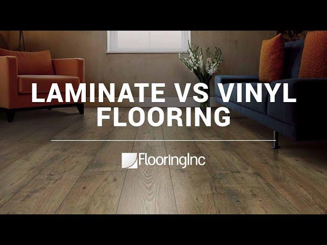 Laminate Vs Vinyl Flooring Youtube