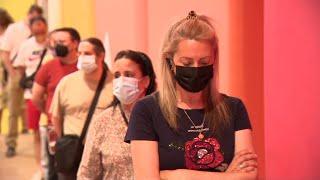 Madrid comienza a vacunar a ciudadanos de entre 40 a 49 años