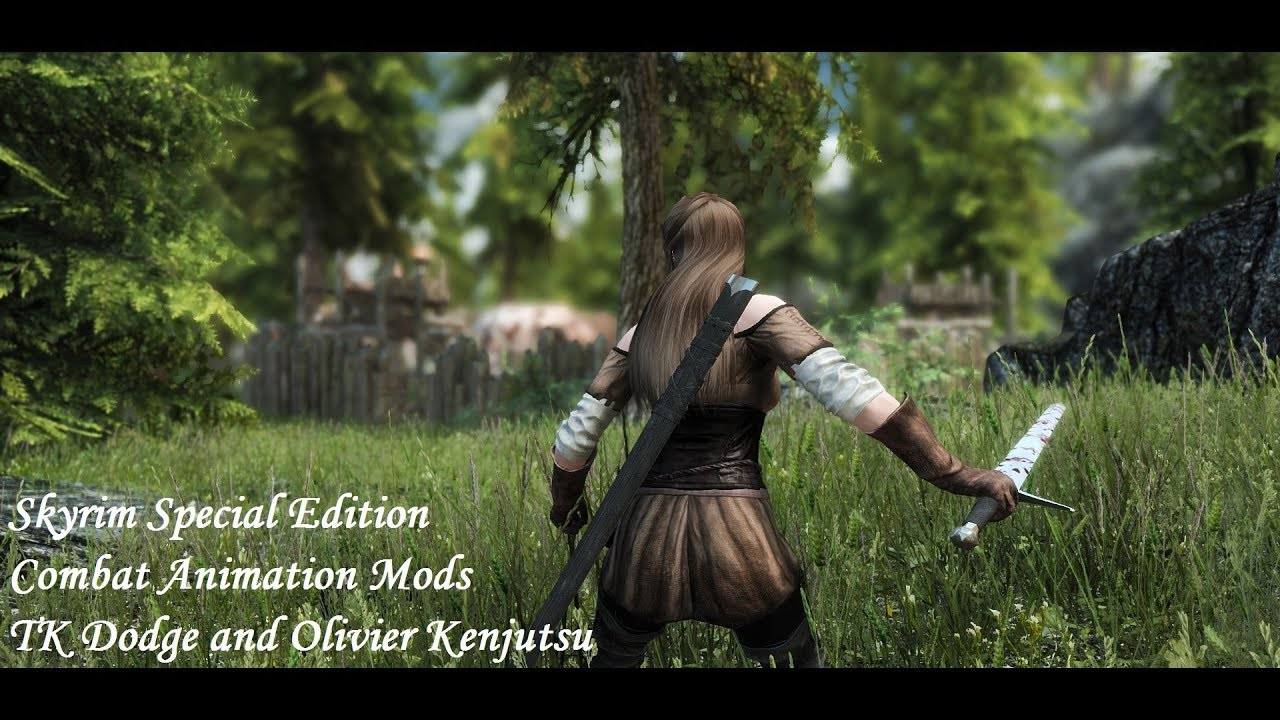 Combat Animations Mods - TK Dodge and Olivier Kenjutsu at