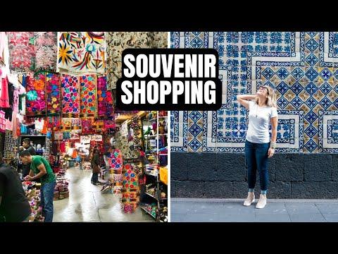 Souvenir Shopping in Mexico City