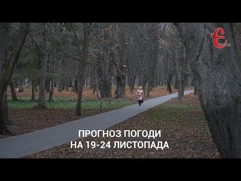 gazeta ye.ua: Прогноз погоди на тиждень 19-24 листопада 2019 року