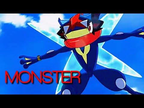 Pokemon ash greninja amv monster