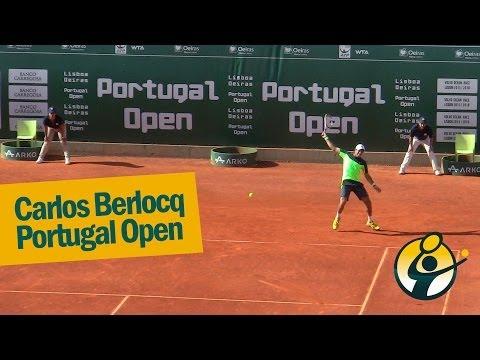 Championship Point Berlocq x Berdych - Portugal Open 2014