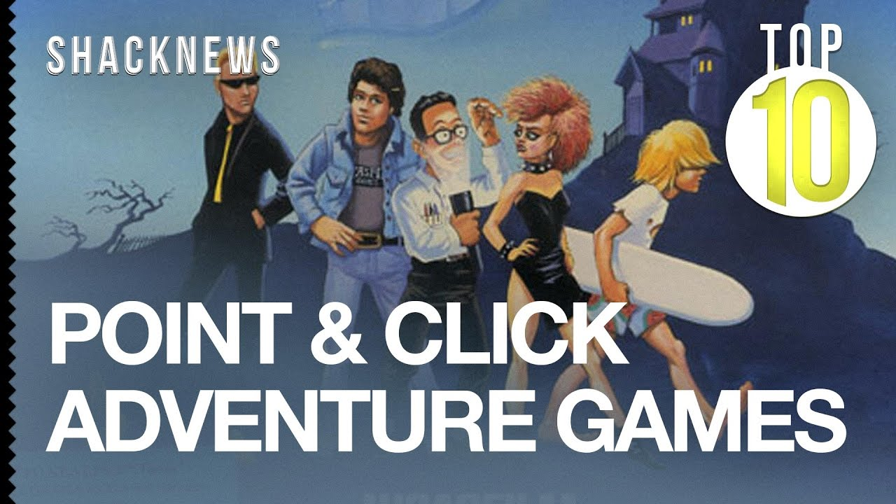 Best point & click adventure games of 2019 - YouTube