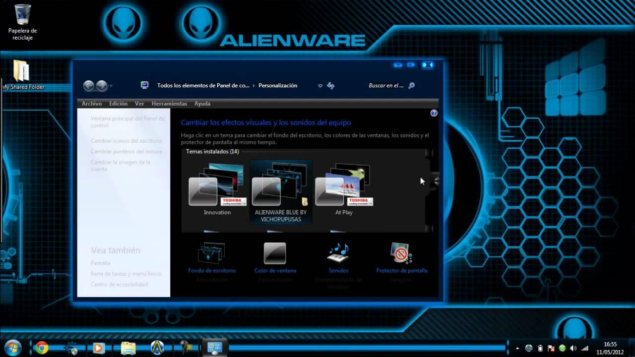 descargar temas para windows 7 professional 32 bits gratis