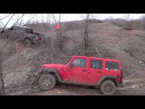 Ford Escape vs Raptor vs Jeep @ Bundy Hill   2-17