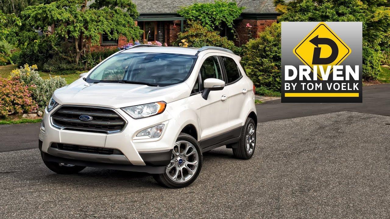 2018 Ford EcoSport Titanium AWD Car Review