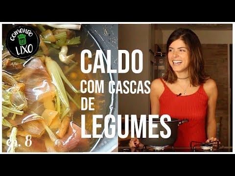 CALDO DE LEGUMES COM CASCAS - COMENDO LIXO #8