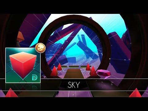 Glitch Dash - Sky