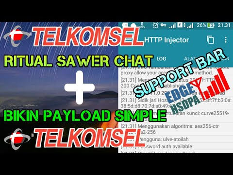 JOSS !!! Ritual Sawer Chat Telkomsel + Cara Bikin Payload Simpel | Request #2 | TUTORIAL ANDROID #15