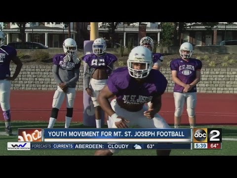 Youth movement for Mount Saint Joseph football