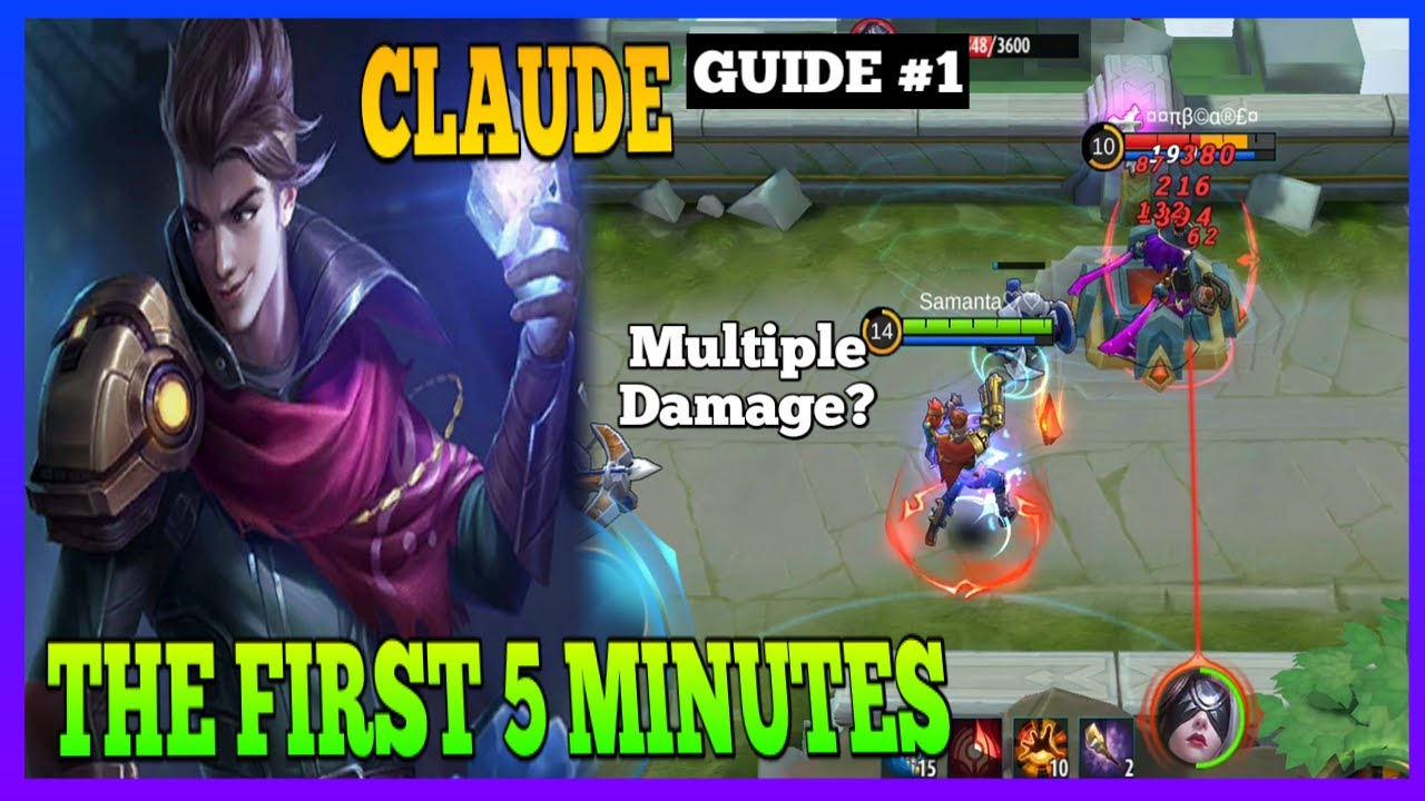 Claude Guide 1 | Don't Focus on Getting Stacks | Master the Basics | Claude Gameplay | MLBB
