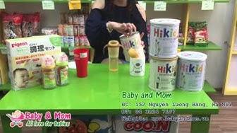 Hướng dẫn cách pha sữa Hikid Hàn Quốc - Baby and Mom