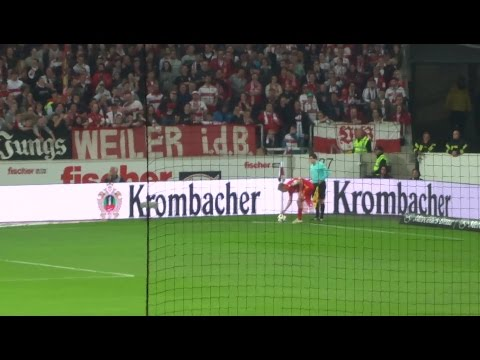VFB vs. Union - 62. Minute: Ecke Union - Kroos (2017 live @ Mercedes-Benz Arena - Stuttgart)