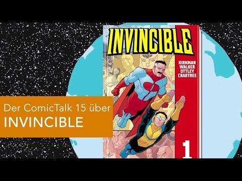 Noch ein Superheld? Der COMICTALK 15 über INVINCIBLE