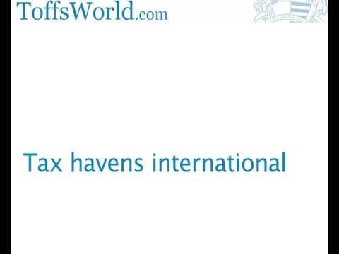 International tax havens