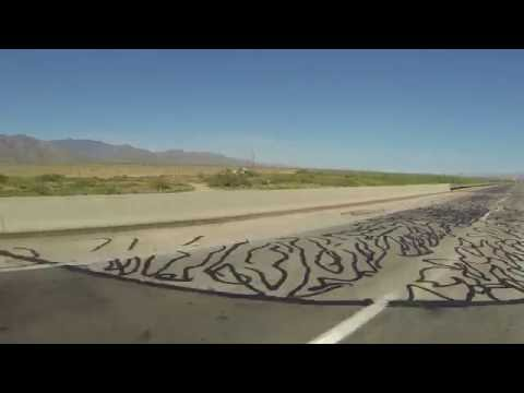 Drive on Interstate 10 East from Willcox, Arizona, Cochise County, 28 July 2016 GP090045