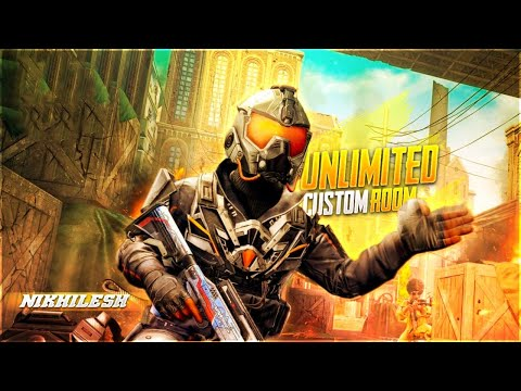 UNLIMITED CUSTOM ROOMS -- PUBG MOBILE LIVE -- PUBG MOBILE CUSTOM ROOMS -- - 동영상