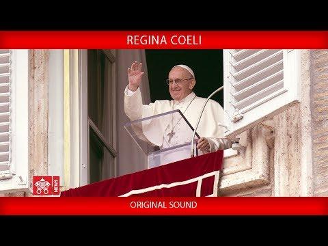 Pope Francis - Recitation of the Regina Coeli prayer 2018-05-20