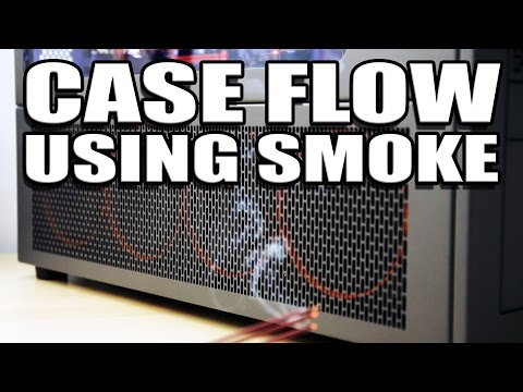 Case Flow and Pressure Demonstration - How to balance airflow