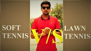 Difference  between Soft Tennis And Lawn Tennis In Hindi  Puneet Kumar Soft Tennis India Player